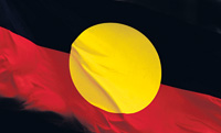 Aboriginal Flage - Flag design © Harold Thomas