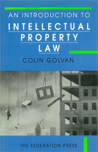 An Introduction To Intellectual Pproperty Law