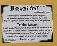 Birubi Art Fake Trisha Mason Advertisement